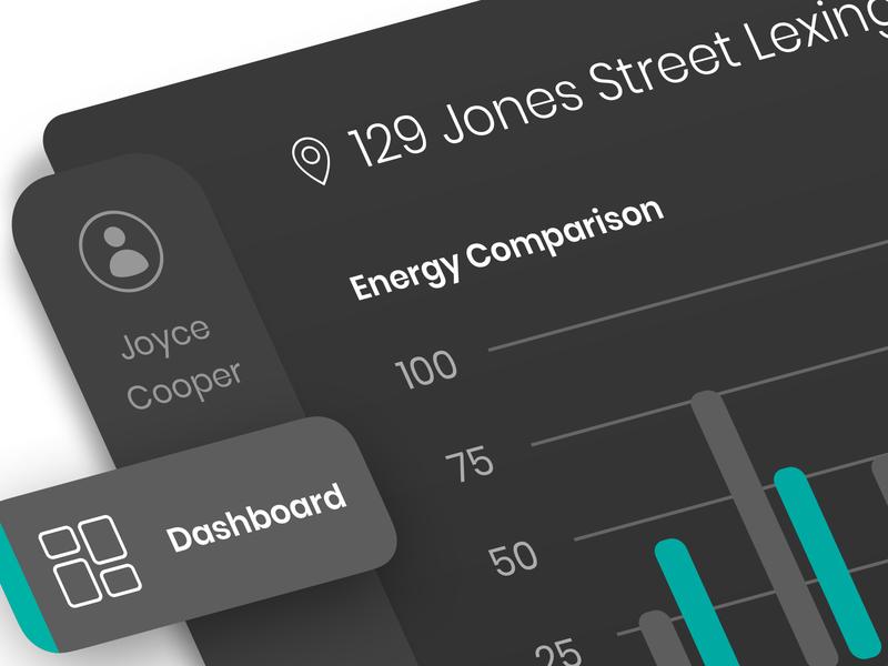 Energy Dashboard Closeup