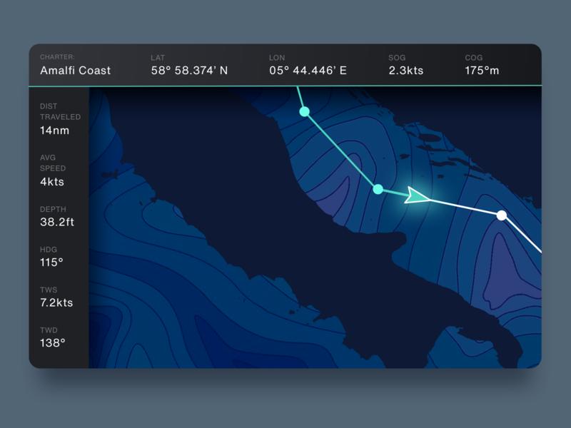 Sailing Navigation Interface