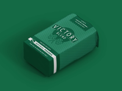 Victory Blend Coffee vintage roasters roaster retro racing mockup package design coffeeshop coffee packaging coffee clean brand identity brand automotive automobile auto