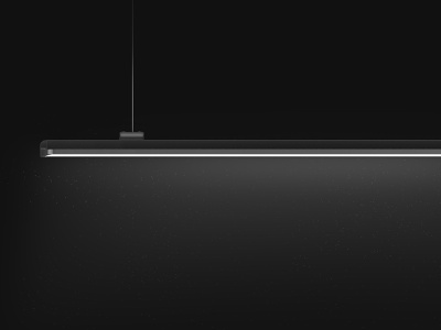 Luminaire side view keyshot 7 render minimal industrial designer industrial design product design hero image hero lighting effects lighting design lighting luminaire