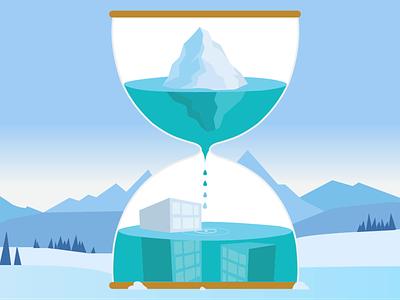 Hourglass illustrator design hourglass