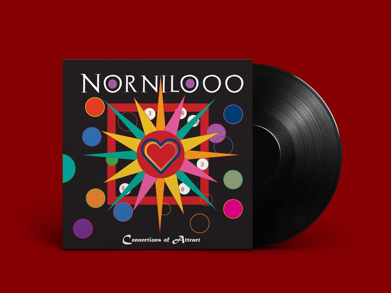 Nornilooo Album Cover Design illustration