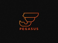 Pegasus logo concept