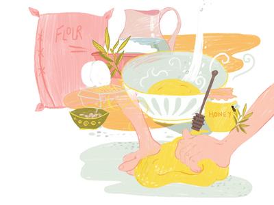 How to make Liege waffles | Step 1