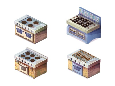 oven oven game art game gameart