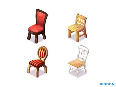 Chairs chair furniture game art art game