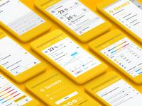 Terneo smart floor UI