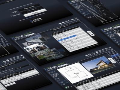 Tablet UI for appraisal inspector touch interace xaml wpf ui ui  ux app design
