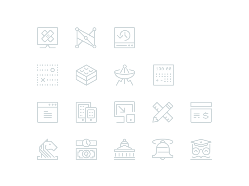 Single stroke icons icons single weight iconography stroke branding