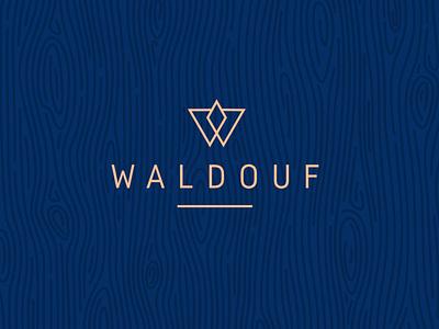Waldouf  logo furniture logos minimal logotype illustration simple logo brand identity simple branding design logo