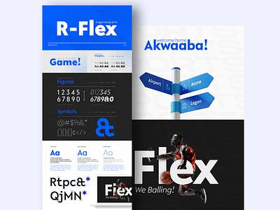 R Flex Shot type type design type art typedesign typographic typography art typography typogaphy typo typeface font family font font design fonts