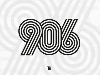 906 lockdown coronavirus quarantine branding design minimal logo design logos simple logo logotype simple illustration logo graphic design grid logo