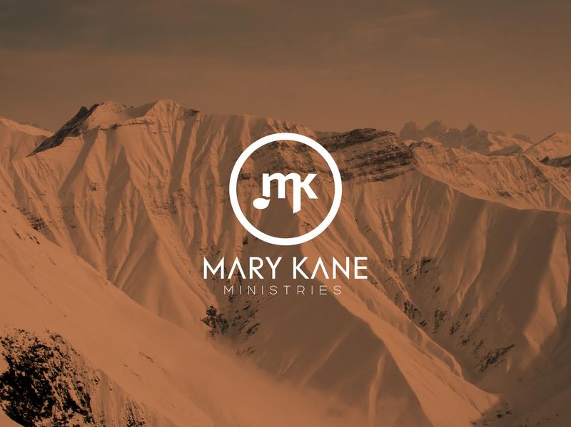 Mary Kane Ministries mk rerdsystems church logo ministry logo singing logo music logo mk monogram logos logo design illustration logotype logodesign design minimal branding simple logo
