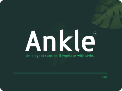 Ankle Font