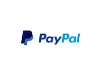 Pay Pal animated logo morph gift animate2d typography motion minimal logoanimation animated logo illustrator illustraion icon graphic drawing digital design art animation