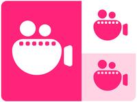 Nikart studo logo design