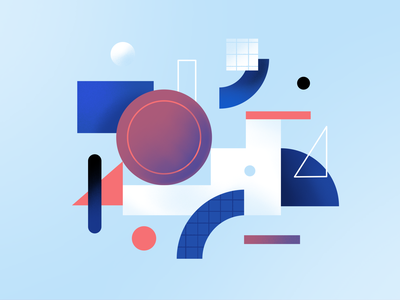 Blockchain payment - abstract geometry illustration crypto cryptocurrency geometric minimalistic minimalistic illustration financial illustration diem abstract blockchain illustration currency bitcoin digital wallet coin