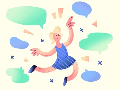 Conversation: Fiverr illustration II