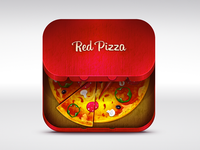 Red Pizza icon