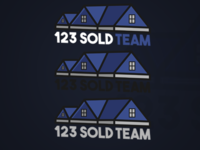 123 Sold Real Estate Logo