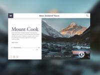 New Zealand Landing Page