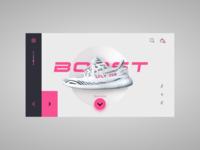 Yeezy Boost 350 minimal design