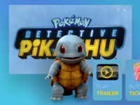 Detective Pikachu - Squirtle