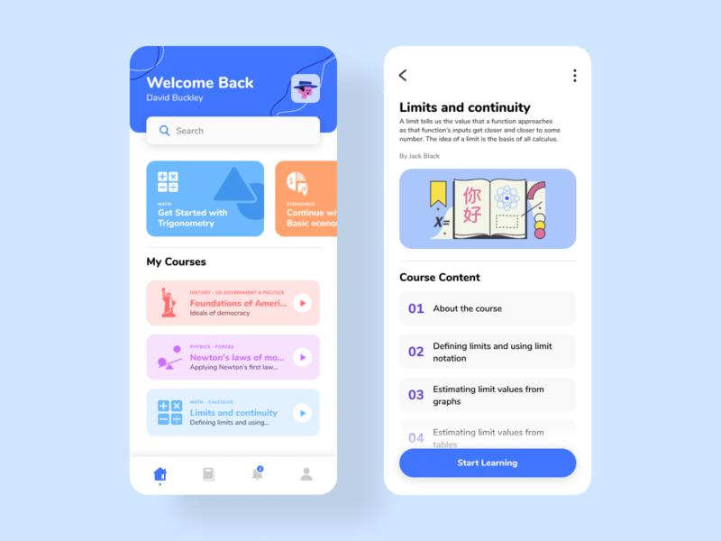 Educational Platform - Mobile
