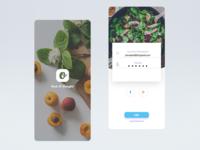 Food App Login