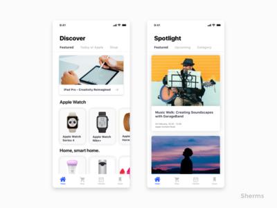 Apple Store redesign concept store store app popular ios iphone x ux ui icons graphics design app app  design