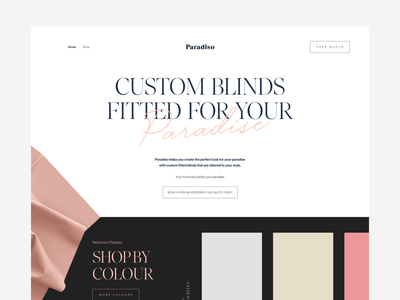 Paradiso Website cleverlogo character luxury logo luxury design identity clean website design art design clean branding