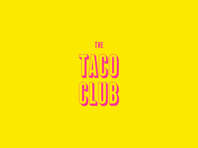 Taco Club Concept 🌮 cleverlogo clean website character luxury logo luxury design identity clean design art design branding