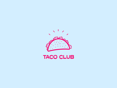 Taco Club Logo Concept 🌮 cleverlogo clean website character luxury logo luxury design identity clean design art design branding