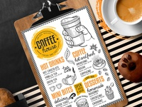 Coffee Menu Template