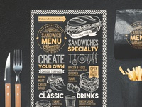 Sandwich Food Menu