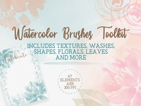 Watercolor Brushes - A toolkit