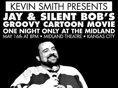 Kevin Smith Event Poster james bratten skinnyd kevin smith event poster screen print