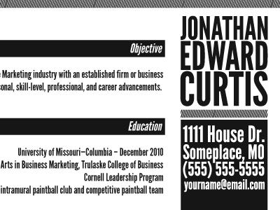 Jec Res Dribble graphic design typography marketing resume