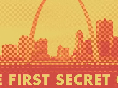 The First Secret City Poster film first secret city missouri st. louis poster