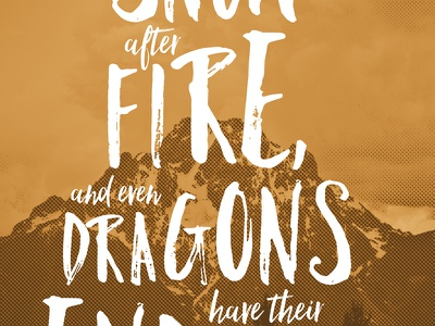 Hobbit Quotester the hobbit quotester preview quote poster graphic design skinnyd