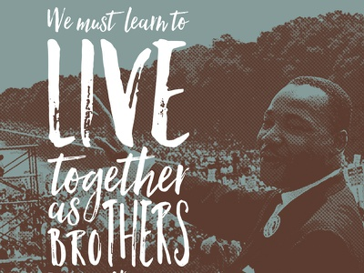 MLK Day Quotester mlk martin luther king jr quotester preview quote poster graphic design skinnyd