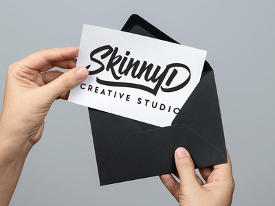 New Logo Design Mockup up mock studio creative design logo graphic design skinnyd