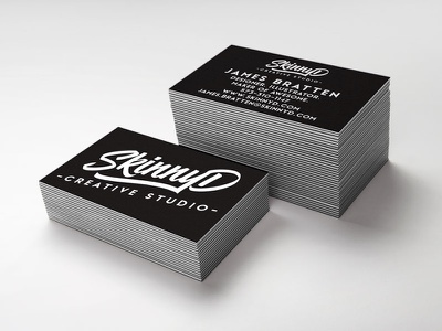 New Logo Business Cards business cards up mock studio creative design logo graphic design skinnyd