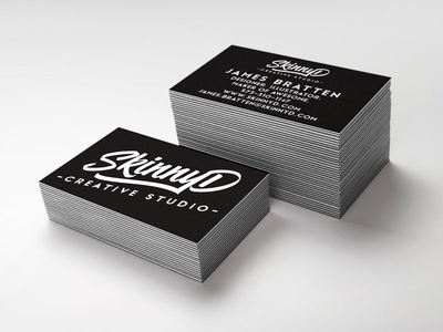 New Logo Business Cards business cards up mock studio creative design logo graphic design skinnyd