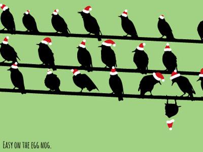 Christmas birds 2012