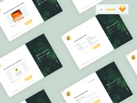 Onboarding screens account create entry signup sign in log in screen green onboarding onboarding screens onboarding ui ui design yellow vector uiux app design ui interface clean