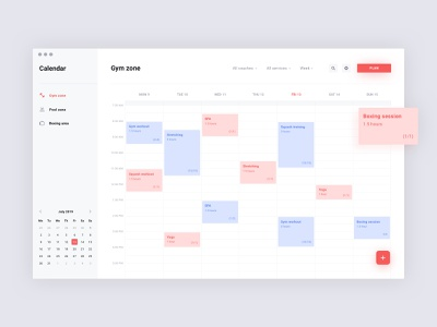 Workout scheduling minimal simple brandnew schedule app calendar dashboard scheduler schedule scheduling uiux design app ui interface clean