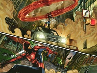 Coloring Pepe Larraz's Uncanny Avengers