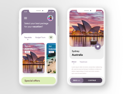 Tours and Travel App