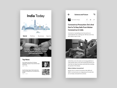 India Today App Redesign